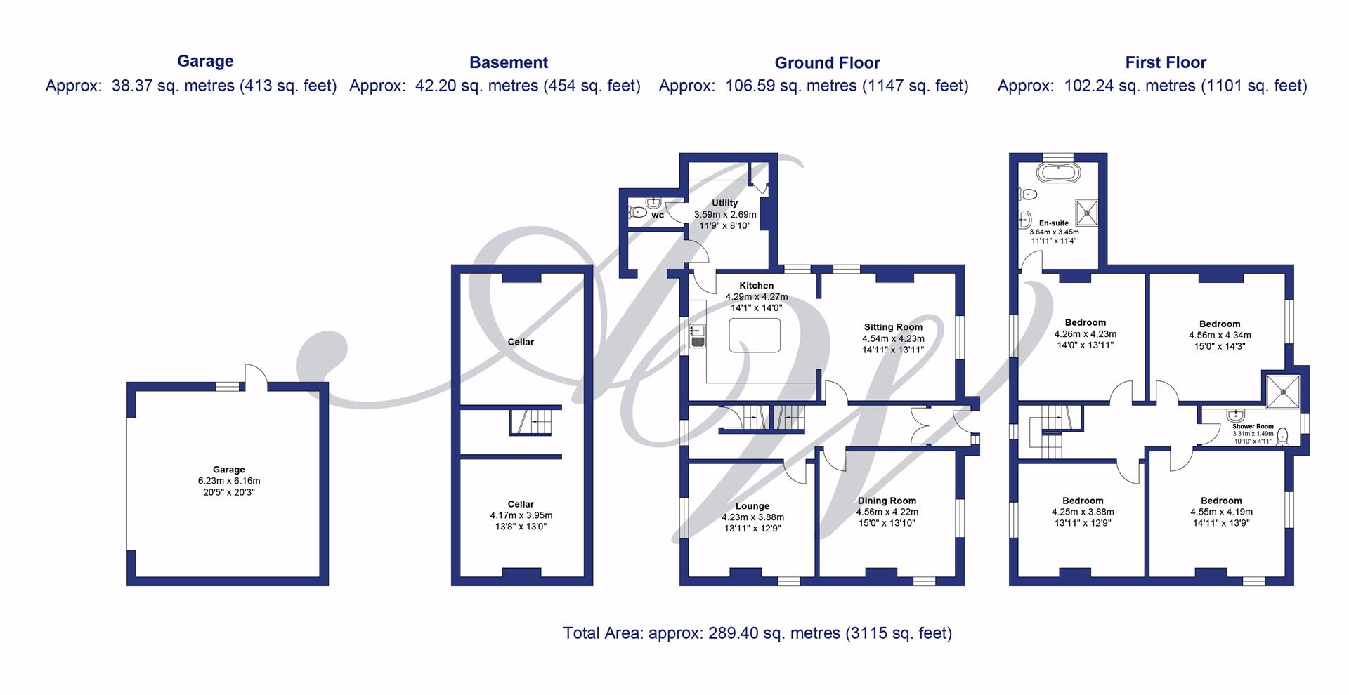 4 bedroom detached house For Sale in Bolton - The Manse, Bolton Road.jpg.